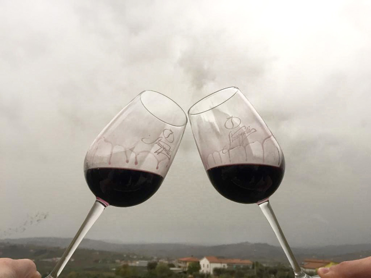 Tasting between mountain and see